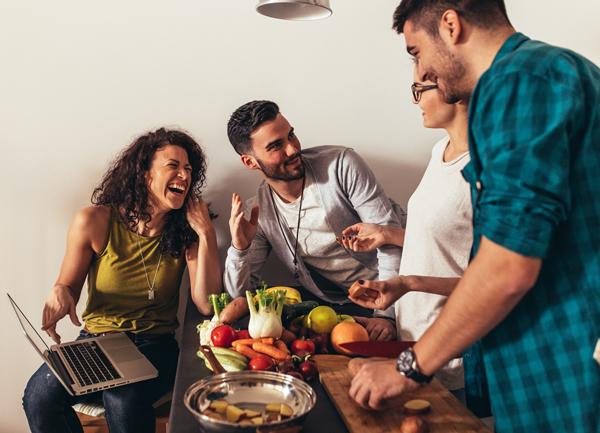 Pledge 1: Host a vegetarian dinner party