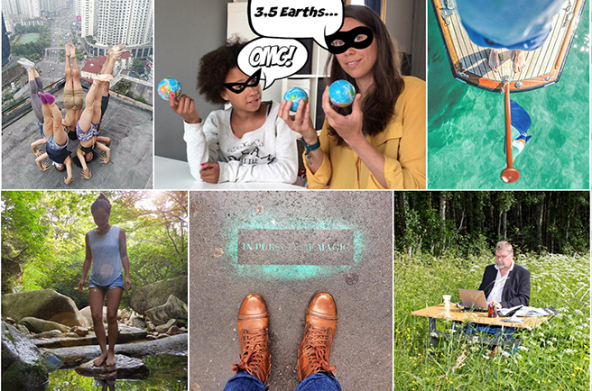 Congratulations to our #PledgeForThePlanet photo contest winners!
