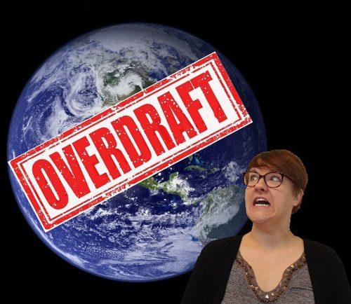 Earth overdraft