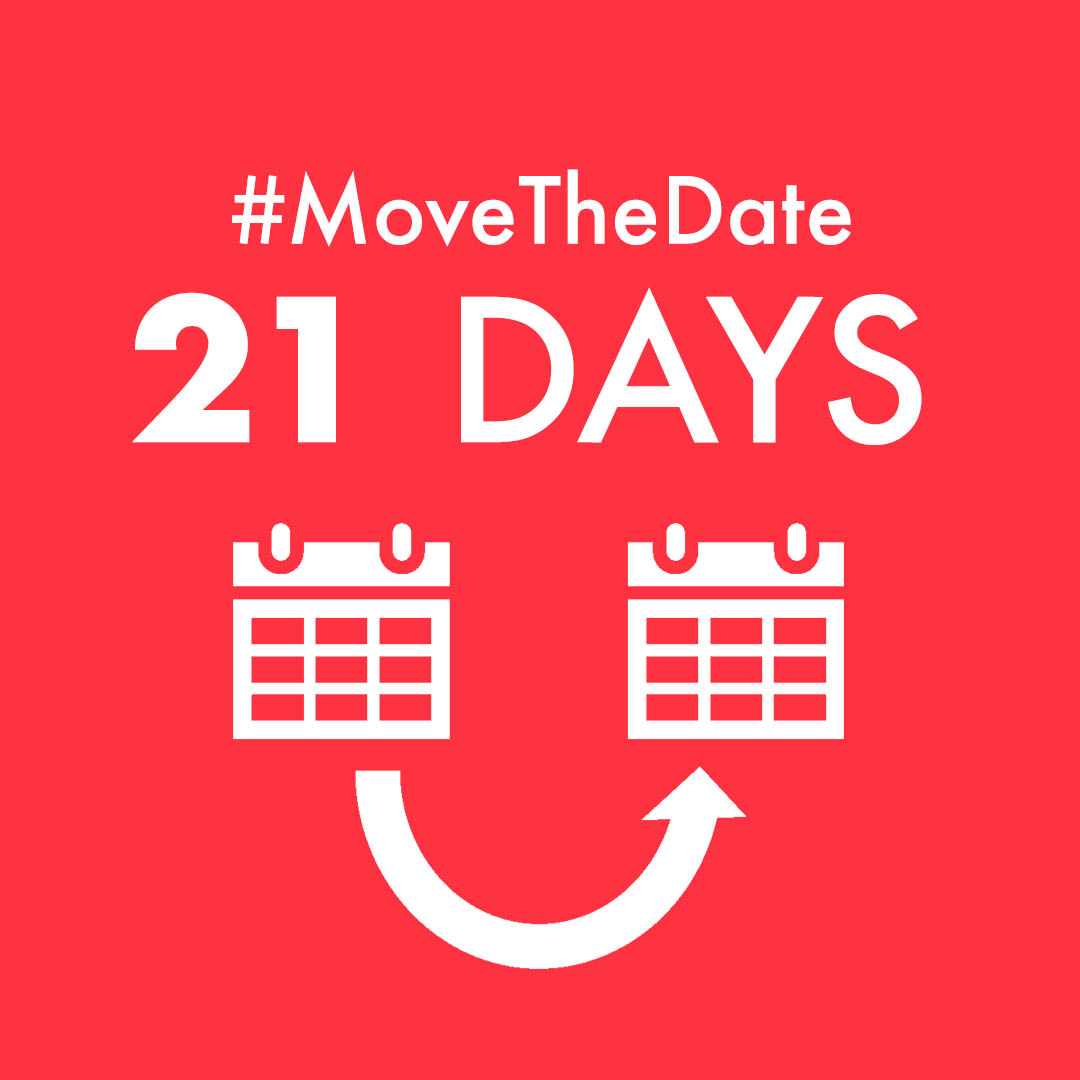 "red square with white text ""MoveTheDate 31 days"""