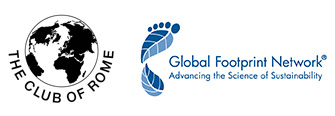 Club of Rome and Global Footprint Network logos