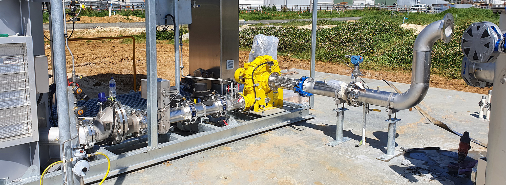 Pumping biogas to accelerate Australia's shift to renewable energy
