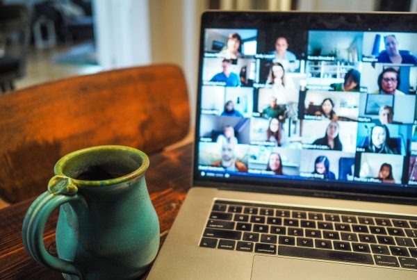 laptop video conferencing