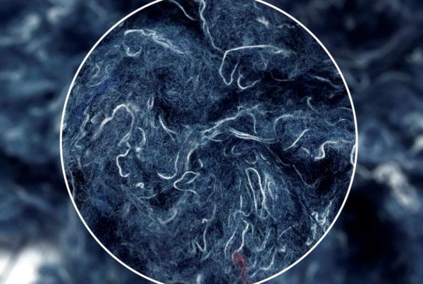 close up image of fabric threads
